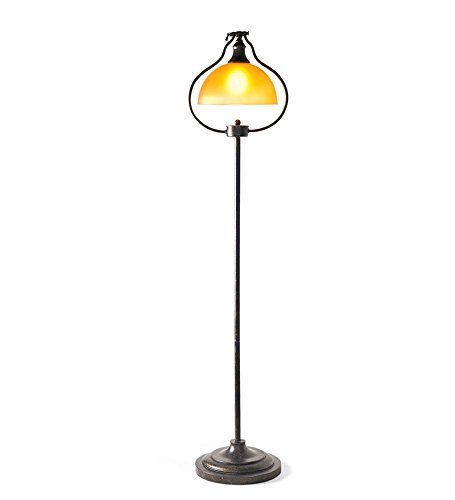 "Plow & Hearth 11738 54""H Library Floor Lamp with an"