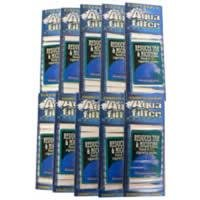 Aqua Filter Disposable Water Filtered Holders Filters - 10 PACKS Disposable Holder