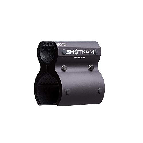 20-Gauge Attachment for Mounting ShotKam (3rd Gen) to Barrel - Aluminum Bracket Accessory ()