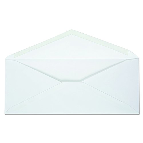 Ampad AMP19384 Envirotech Recycled #10 White Envelopes, 20-LB. Bond, 500 PER BOX