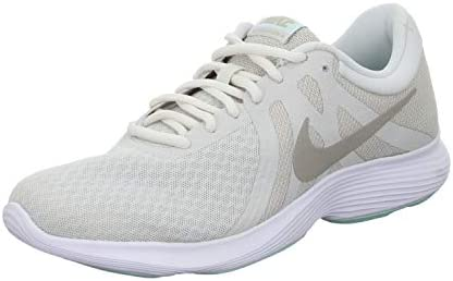 Decorar Paraíso ropa  Nike WMNS NIKE REVOLUTION 4 EU, Women's Women Road Running Shoes,  Multicolour (Platinum Tint/Moon Particle-Teal Tint 017), 3.5 UK (36.5 EU):  Buy Online at Best Price in UAE - Amazon.ae