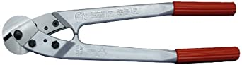 """Loos Cableware C12 Felco Cable Cutter for Up To 3/8"""" Wire Rope"""