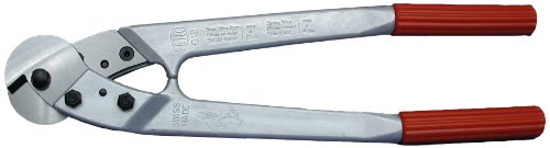 Loos Cableware C12 Felco Cable Cutter for Up To 3/8'' Wire Rope by Loos & Co.