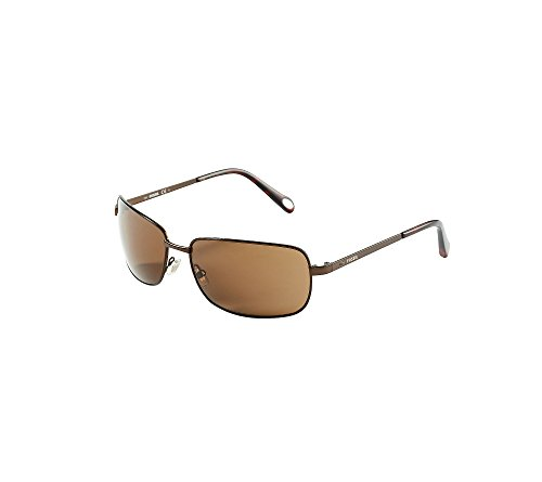 Fossil Men's Thin Navigator Sunglasses (Fossil Mens Clothes)