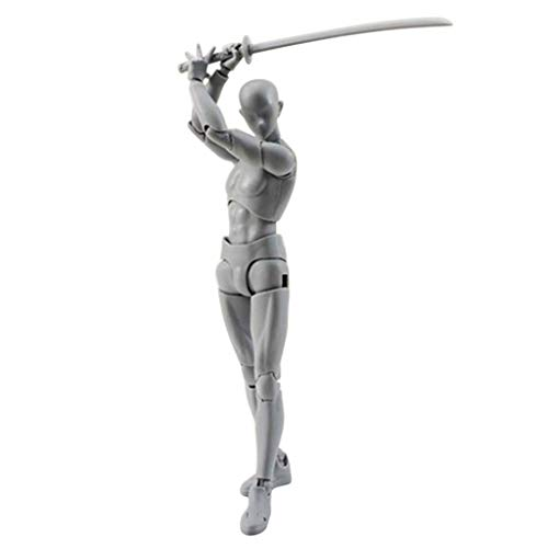Aimik Drawing Figures for Artists Action Figure Model Human Mannequin Man Woman Kits, Ship from US