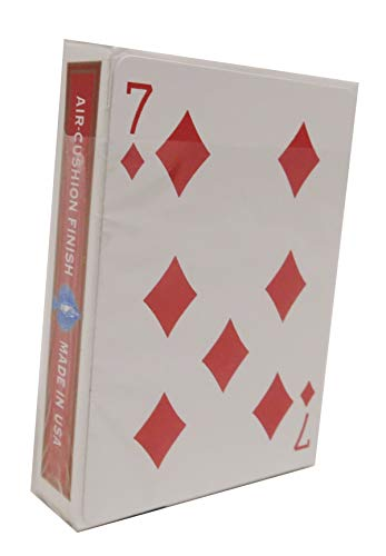 Rock Ridge One Way Forcing Deck for Magic Tricks, Red 7 of Diamonds (Best Torn And Restored Card)