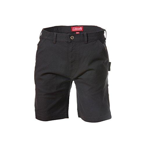 (Coleman Stretch Canvas Work Shorts (40, Raven) )