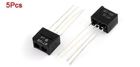 eDealMax ST188 optoelectrónicos interruptor del Sensor de infrarrojos reflectante optocoupler, 5 Piezas: Amazon.com: Industrial & Scientific