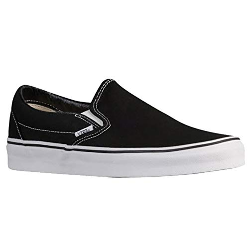 Vans Classic Slip On Shoes 10.5 B(M) US Women / 9 D(M) US Black