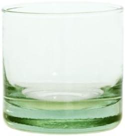 Grehom vasos de vidrio reciclado (Juego de 4) – Squat; Boca soplado cristal reciclado; Fabricado en España: Amazon.es: Hogar