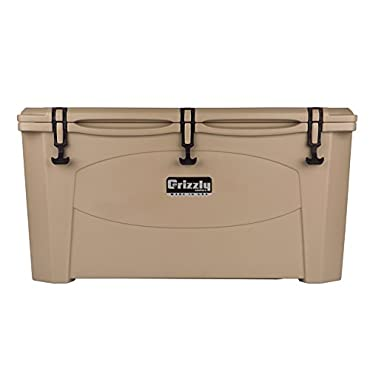 Grizzly 100 Quart Cooler (Tan)