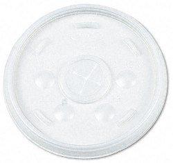 Vented Lid - White - Qty: 1000 / cs - Dart Vented Lid