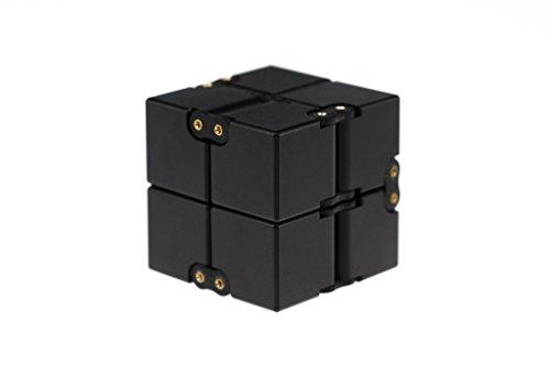 BASTION EDC Infinity Cube Fidget Toy - BLACK
