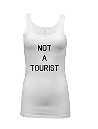 teedesign White Round Neck Tank Top For Women