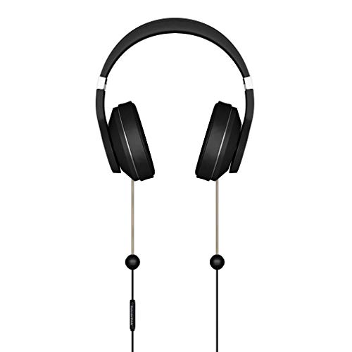 DefenderShield EMF-Free Over-Ear Adult Headphones – Universal Air Tube Wired Stereo Headset with Microphone & Volume…