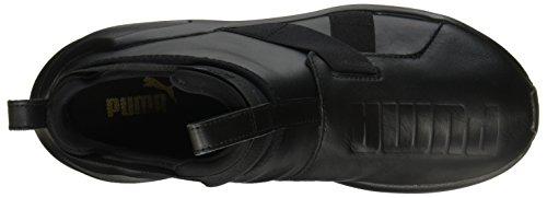 STRAP LEATHER PUMA 01 WN'S SNEAKERS 190569 40 NERO TOTAL BLACK Black FIERCE gtqnErq