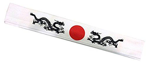 White Headband - Dragon