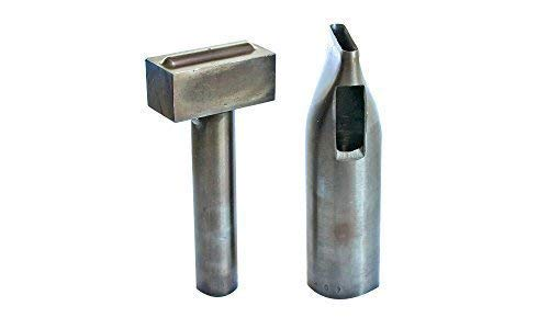 Set Of Hole Punch And Eyelet Setting Hand Tool For 25Mm Metal Oval Eyelets by Trimming Shop