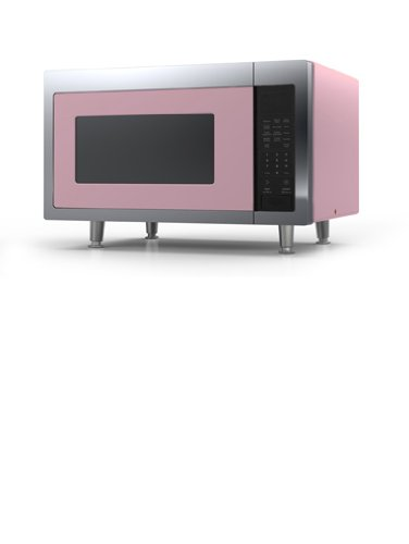 Amazon com: Big Chill Retro Microwave 24 in  wide - Pink
