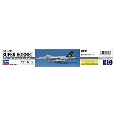 Hasegawa 1/72 F/A-18E Super Hornet (Single Seat): Toys & Games