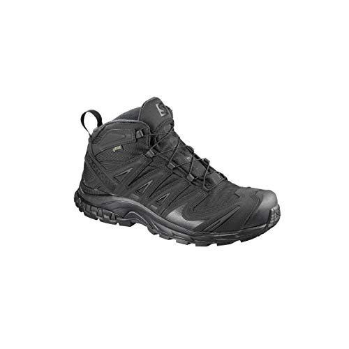 Salomon Men's XA Pro Mid GTX Forces Shoes, Black, Size 10.5 US