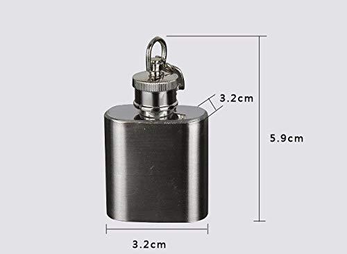 28//56ml Mini Hip Flask Alcohol Flagon Drinkware Key-chain Best Gift Supply