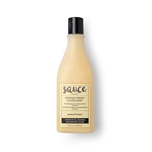 Coconut Cream Intense Repair Conditioner with Moisturizing Coconut Oil, Banana, and Jarrah Honey to Help Smooth & Defrizz Hair - Paraben & Sulfate Free Hair Conditioner for Damaged Hair