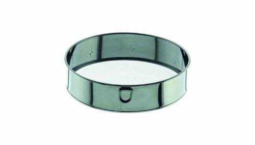 Mehlsieb Zuckersieb sehr fein Ring und Metallgwebe aus Edelstahl Maschenweite 0,45 mm ø 220 mm