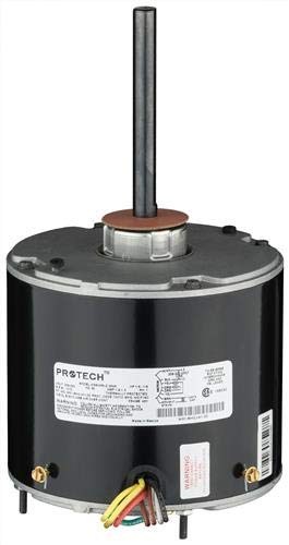 Universal Condenser Motor - 1/3 to 1/6 HP, 208-230/1/60, 1075 RPM / 1 Speed by PROTECH/RHEEM (Image #3)