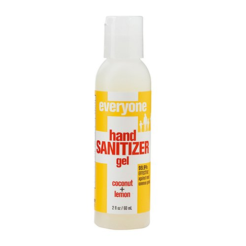 - EO Products Hand Sanitizer Gel for Everyone, Coconut Lemon, 2 Fluid Ounce