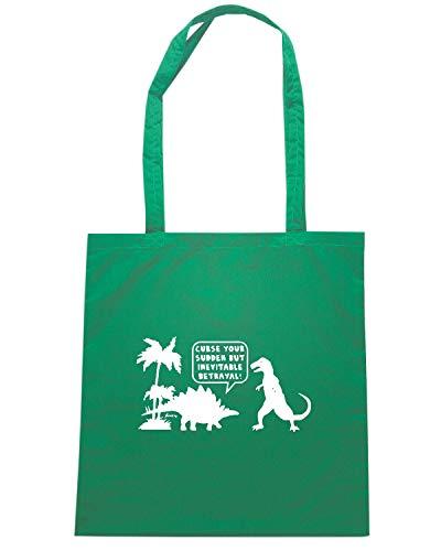 BETRAYAL Verde CURSE Borsa Shirt FUN1113 SUDDEN Speed Shopper YOUR RAHBzWwq8