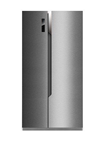 Hisense SBS 518 A+ EL Side-by-Side / A+ / 178.6 cm Höhe / 411 kWh/Jahr / 339 L Kühlteil / 177 L Gefrierteil / Total No Frost / Multi Air Flow System