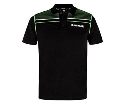 Kawasaki SPORTS POLO SHIRT ! NEU schwarz grün