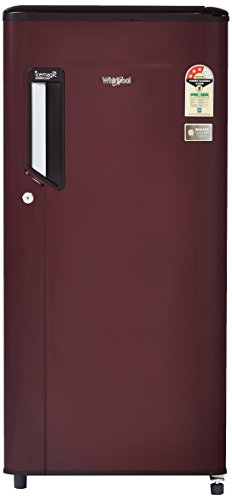 Whirlpool 185 L 3 Star Direct Cool Single Door Refrigerator 200 IMPC CLS Plus 3S, Wine