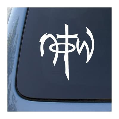 "CMI236 NOTW - Not of this world - Car, Truck, Notebook, Vinyl Decal Sticker | Vinyl Color: White | 5.5"": Automotive"