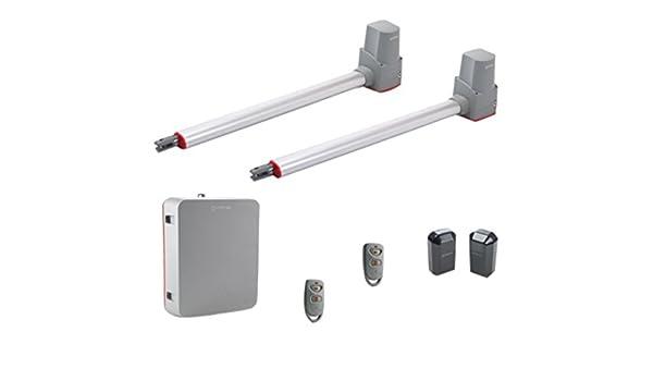 Erreka TEMIS2 Kit Completo de Motores para Puertas Batientes Residenciales de hasta 2.2 m: Amazon.es: Bricolaje y herramientas