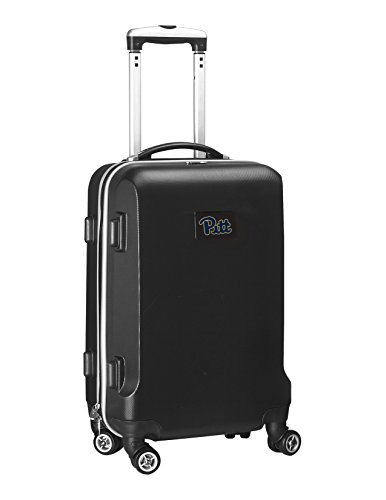 NCAA Pittsburgh Panthers Carry-On Hardcase Spinner, Black by Denco