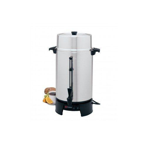 Focus Foodservice 58015V 580000V Series Commercial Coffee Maker, 220 Volts, 55 Cup Capacity, 17-3/8
