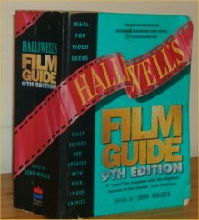 Halliwell's film and video guide 1998 by john walker ~o35^ £6. 99.
