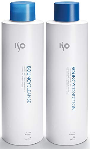ISO Bouncy Cleanse & Condition Curl-Defining Set