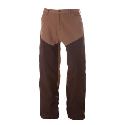 Duck Brush Pant (Berne Apparel P906 Men's Sanded Duck Brush Relaxed Fit Pant Hickory 42W x 32L)