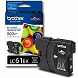 Brother LC61BK Innobella Standard Yield Black Ink Cartridge, Approximatly 450 Pages, Office Central