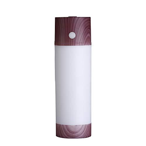 (usb air humidifier 250ml Aromatherapy USB mini Car Aroma Diffuser Essential Oil Diffuser office home air humidifier,W)