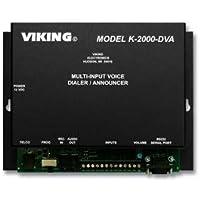 VIKING ELECTRONICS K-2000-DVA / MULTI IMPUT VOICE ALARM DIALER by Viking