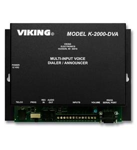VIKING ELECTRONICS K-2000-DVA / MULTI IMPUT VOICE ALARM DIALER by - Voice Alarm Dialer