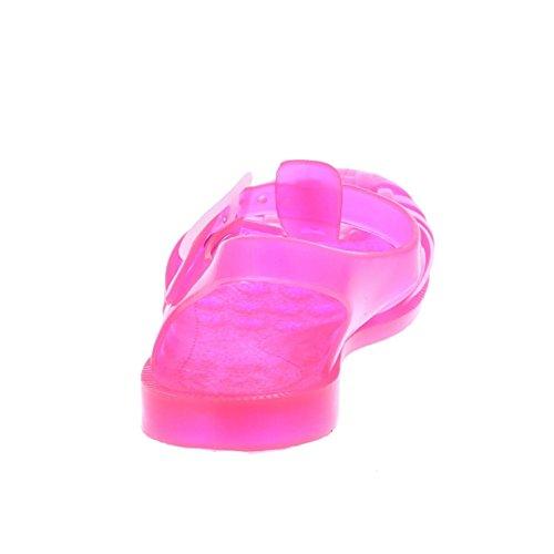 Pink Plastic Sandals Pink 4 VqCwKbSMJ