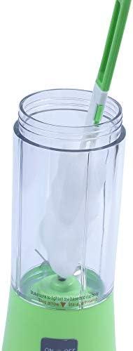 Juicer Cup, Mélangeur De Jus Portable, Mélangeur De Fruits Ménagers, Machine De Mélange De Fruits Avec Câble De Chargeur D'usb