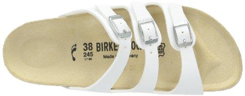 Birkenstock Florida Zuecos de birko, Mujer Blanco