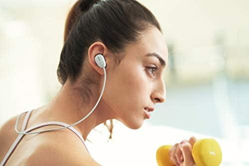Cheap Sony SP600N Wireless Noise Canceling Sports In-Ear Headphones, White (WI-SP600N/W) (Renewed)  Mz3ZLXt