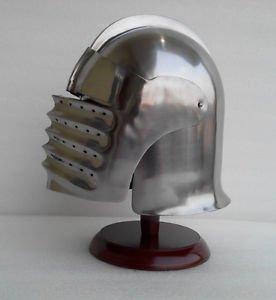 Junglevibes Medieval 15 Century Italian Armor Helmet Milanese Close Steel Helm Sca Larp Prop